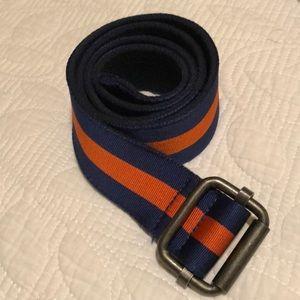 J Crew Striped Belt